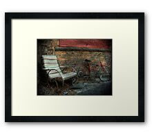 Abused and Broken ~ Almost Urban Framed Print