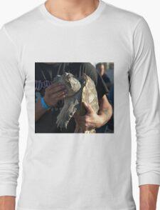 Snap Long Sleeve T-Shirt