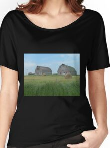 Old Barns Women's Relaxed Fit T-Shirt