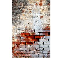 Bricked In Photographic Print