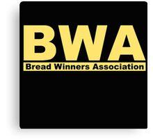 BWA Bread Winners Association Kevin Gates Canvas Print