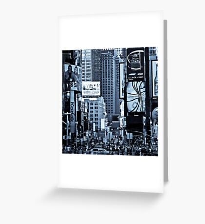 Times Square^2 Greeting Card