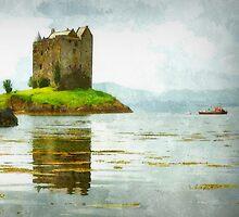 stalker castle - scotland  by dale54