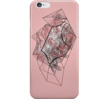 Pink Crystalised Abstract Design iPhone Case/Skin
