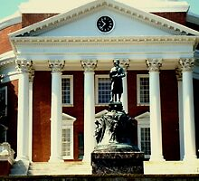 UVa Campus - The Rotunda by ctheworld