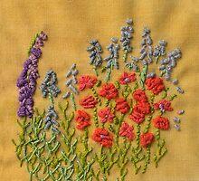 Flower Border by PippinTextiles