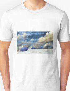 Beach Umbrellas Unisex T-Shirt