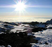 On top of the World (Kilimanjaro) by emmalea