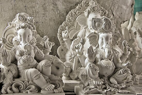 Moods of Lord Ganesh & the making of idols #1 by Prasad