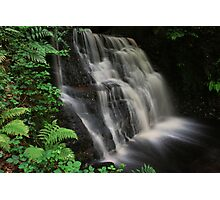 Tigers Clough Waterfall Photographic Print