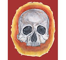 SKULL ZONE 71 Photographic Print