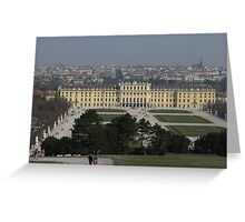 Schönbrunn Palace Greeting Card