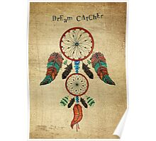 DREAM CATCHER OVER ANCIENT STONE Poster
