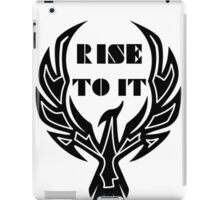 Rise To It iPad Case/Skin