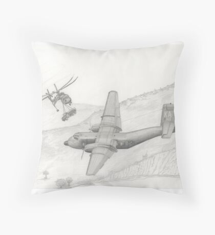 Almost a bad day Throw Pillow
