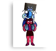 This is Garnet, Back Together Metal Print