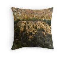 Mineral Walls - Queenstown, Tasmania, Australia Throw Pillow