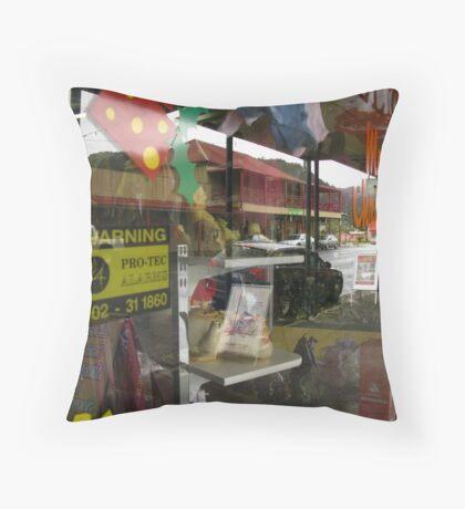 Main Street - Queenstown, Tasmania, Australia Throw Pillow