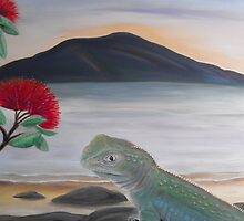 Native New Zealand by Sharlene  Schmidt