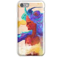 Long-haired iPhone Case/Skin