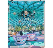 The Mad Hatter's TeaCups iPad Case/Skin