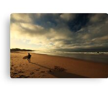 session's over..... Canvas Print