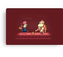 Tricky Kong Canvas Print