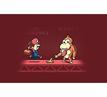 Tricky Kong Photographic Print