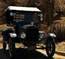 1924 Ford Model T Touring Car by TeeMack