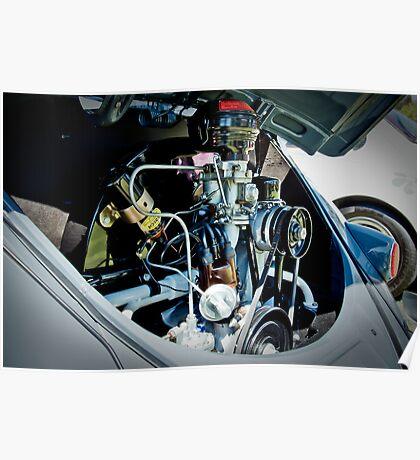 Volkswagen Engine Poster
