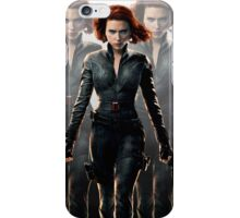 Black widow - the spy iPhone Case/Skin
