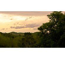 Taree sunset Photographic Print