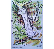 Dolgoch Falls, Talyllyn, Wales Photographic Print