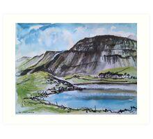 Llyn Cregennan and Cadair Idris, Wales Art Print