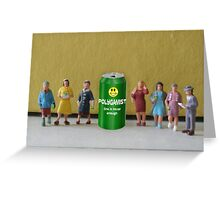 After seeing the success of Sierra Mist, Joseph invents his own soda and shares it with his wives. Greeting Card