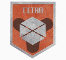 Destiny Titan Badge by JoshVII