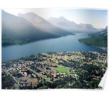 WATERTON, Can.   from Bear Mountain Poster