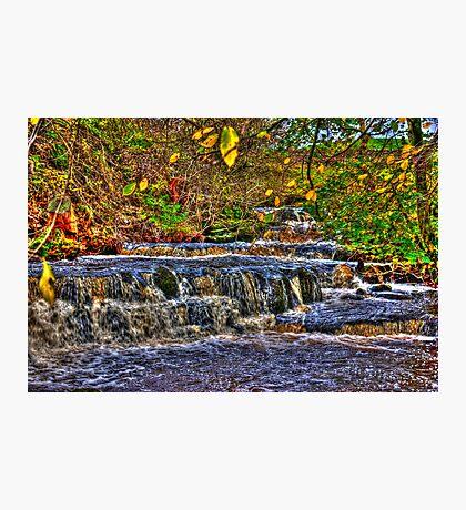 Waterfalls at Kearton (HDR) Photographic Print