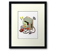 Who wants to play video games?! Framed Print