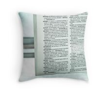 Invest in education Throw Pillow