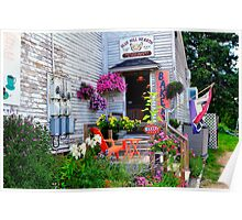 Blue Hill Bakery, Blue Hill, Maine Poster