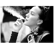 POSTMODERN ART OF SMOKING - PERFECTION Photographic Print