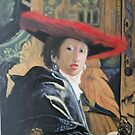 Girl in the Red Hat by Johannes Vermeer by Jsimone