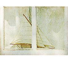 Sailboat in the Window Photographic Print