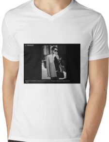 FASHION AT THE CROSSWALK Mens V-Neck T-Shirt
