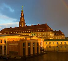 Christiansborg Palace in Copenhagen, Denmark by Atanas Bozhikov Nasko