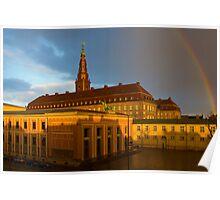 Christiansborg Palace in Copenhagen, Denmark Poster