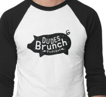 Dudes Brunch Podcast Logo T-shirt Men's Baseball ¾ T-Shirt