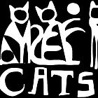 Cats black and white  by Karin Zeller