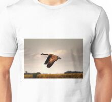 Goose in Flight Unisex T-Shirt